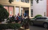 Hà Nội: Một người rơi từ tầng 5 bệnh viện 198 xuống đất tử vong
