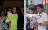 Lộ ảnh vợ chồng Dương Mịch - Lưu Khải Uy đưa con gái đi học