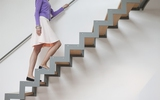 Đi lại bằng cầu thang bộ sẽ giúp phát hiện viêm khớp, tổn thương ở đầu gối