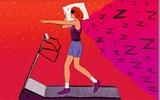 Muốn giảm cân, chọn giấc ngủ hay thể dục?