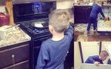 Cậu bé 6 tuổi nấu cơm, rửa bát tinh tươm và bài học dạy con không thể chuẩn hơn của người mẹ