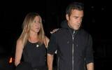 Vợ chồng Jennifer Aniston hẹn hò tình tứ sau ngày Brangelina ly dị