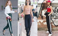 Thu/Đông này, quần thể thao kẻ sọc thân chắc chắn sẽ soán ngôi tất thảy các kiểu quần dài khác