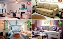 Những sai lầm trong thiết kế phòng khách nếu mắc phải bạn cần thay đổi ngay lập tức