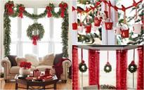 Mang không khí Giáng sinh đến từng khung cửa sổ nhà bạn với hàng loạt ý tưởng trang trí sáng tạo