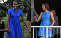 Phong cách thời trang của con gái lớn cựu Tổng thống Obama đúng là bản sao hoàn hảo của mẹ
