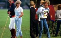 Đẹp như công nương Diana thì chỉ mặc quần jeans cũng xuất sắc hơn người