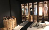 Tủ quần áo mở - ý tưởng cho mọi không gian trong ngôi nhà của bạn