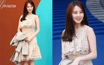 """""""Em út"""" Seohuyn vướng nghi án tiêm thẩm mỹ vì cười gượng và đơ tại Tuần lễ thời trang Seoul"""