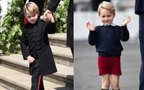 Cư dân mạng thích thú phát hiện ra chi tiết chưa từng thấy bao giờ của hoàng tử George tại đám cưới chú út Harry