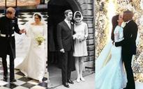 Ngoài Meghan Markle, 2 người đẹp nổi tiếng này cũng chọn Givenchy thiết kế váy cưới lần 2 của mình
