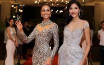 Hoa hậu hoàn vũ H'Hen Niê hội ngộ Hoàng Thùy trên thảm đỏ