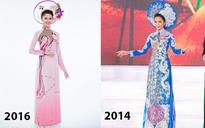 5 năm trở lại đây, chiếc áo dài cuộc thi Hoa hậu Việt Nam đã thay đổi như thế nào