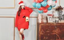Đinh Hương xinh như sao Hàn trong bộ ảnh mừng Giáng Sinh