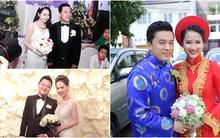 """Ngắm loạt đám cưới đáng nhớ của """"sao"""" Việt trong năm 2014"""
