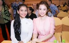 Angela Phương Trinh đẹp không tì vết hội ngộ Trương Thị May