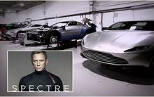 James Bond phần mới nhất khoe dàn siêu xe tại thành Rome
