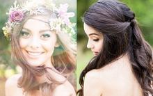 Bí quyết giúp bạn để xõa tóc mà vẫn lộng lẫy trong ngày cưới
