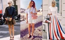 Street style đa sắc, ấn tượng của phái đẹp châu Âu