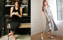 """Jersey dress - Chiếc váy khiến mọi quý cô """"khoe dáng"""" tự tin, thoải mái"""