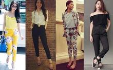 4 xu hướng quần vải khiến sao Việt