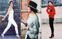 Street style Thu nữ tính xen lẫn hiện đại của các quý cô châu Á