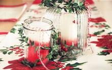 16 ý tưởng trang trí bàn ăn lung linh vào đêm Giáng Sinh