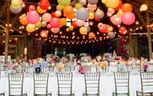 Ý tưởng trang trí tiệc cưới bằng đèn đẹp ấn tượng
