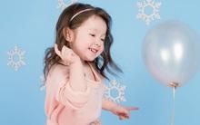 Hơn 2 tuổi, con gái Elly Trần đã cực