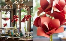 Mách bạn cách làm hoa giấy đẹp như thật rực rỡ tưng bừng