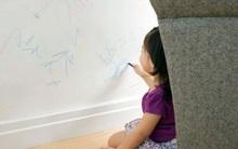 Đón Tết với tường sạch bóng không một vết chì màu con vẽ chỉ bằng cách quá nhẹ nhàng