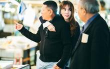 Ngọc Trinh say đắm ôm tỷ phú 72 tuổi trong chuyến đi sang Nhật