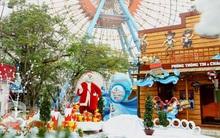Phố phường Hà Nội, Sài Gòn đã trang hoàng rực rỡ lung linh chào đón Giáng sinh