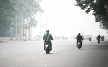 Chùm ảnh: Hà Nội ngày mù sương