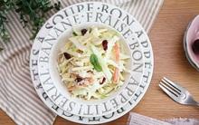 Giải ngán cho mọi bữa tiệc với salad bắp cải chua giòn hấp dẫn