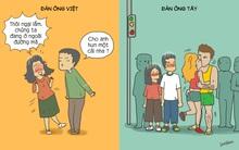 Tranh vui: Khác biệt khi hẹn hò với đàn ông Tây và đàn ông Việt được chị em đúc kết