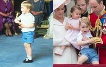 Công nương Kate cho 2 con diện lại đồ của bố William, chú Hary và đây là lý do