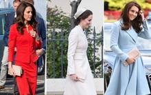 Suốt cả tháng 7, công nương Kate chỉ chuộng diện lại túi cũ từ năm ngoái