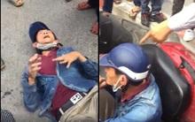 Hà Nội: Người dân vừa tóm một trong 2 tên dàn cảnh va chạm để cướp của phụ nữ