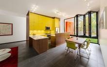 Nhà bếp nổi bật trong năm mới với màu vàng chanh bắt mắt