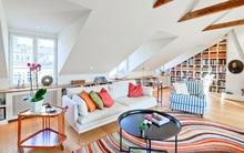 Lên ý tưởng trang trí tầng gác mái thành không gian sống tuyệt đẹp và có ích