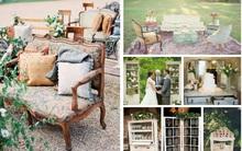 Trang trí tiệc cưới theo phong cách vintage đẹp đến mê mải