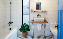 Nhà tắm đẹp và chất với phong cách công nghiệp