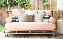 14 ý tưởng hô biến gỗ pallet thành đồ nội thất tuyệt đẹp