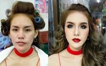 """Dù biết makeup và công nghệ là """"vi diệu"""", nhưng thần thánh đến mức này thì quả thật khó nói nên lời"""