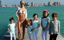 Bà mẹ 35 tuổi có 5 con chỉ cách giảm cân sau sinh để sở hữu thân hình vạn người mê