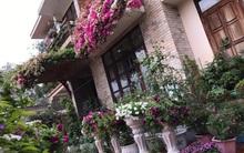 Căn biệt thự chìm ngập trong sắc hoa đẹp như cổ tích ở thành phố Hạ Long, Quảng Ninh