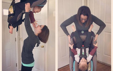 Bức ảnh thể hiện nguyên tắc sống còn khi dùng ghế ngồi ô tô cho trẻ