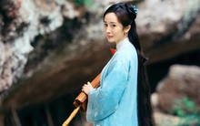 Dương Mịch áo xanh giản dị, đẹp dịu dàng giữa khung cảnh thiên nhiên
