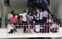 Cháy tại phòng thu tiền khoa Khám bệnh tự nguyện của BV Bạch Mai: Chuyển bệnh nhân sang các khoa khác thăm khám
